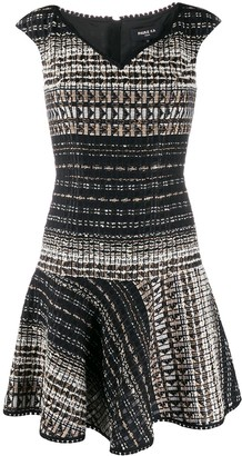 Paule Ka Woven Mini Dress