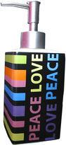 JCPenney Peace & Love Soap Dispenser