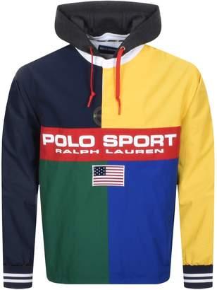 Ralph Lauren Rugby Pullover Jacket Navy