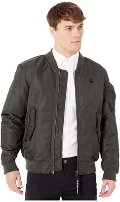 G Star G-Star Arris Bomber Jacket (Asfalt) Men's Clothing
