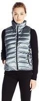 Calvin Klein Jeans Women's Metallic Puffer Vest