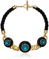 "Trina Turk Destination Groove"" Resin & Status Necklace, 17.5"""