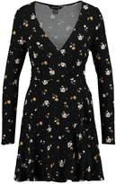 New Look Jersey dress black pattern