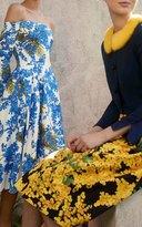 Carolina Herrera Mimosa Off The Shoulder Dress