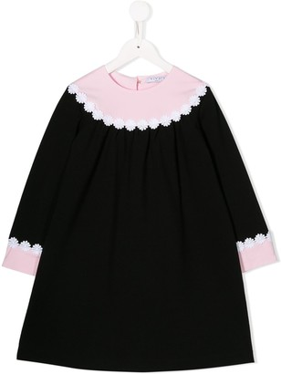 Vivetta Kids Curved Collar Dress