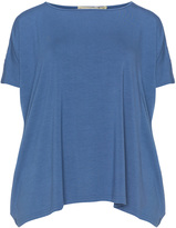 Isolde Roth Plus Size Oversized handkerchief hem t-shirt