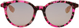 McQ by Alexander McQueen Pink Pantos Sunglasses