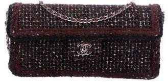Chanel Tweed E/W Flap Bag
