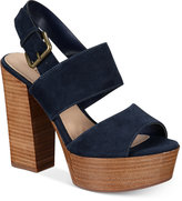 Aldo Women's Maximoa Platform Block-Heel Sandals