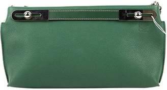 Loewe Missy Green Leather Handbags