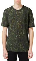 Topman Men's Slim Fit Print T-Shirt