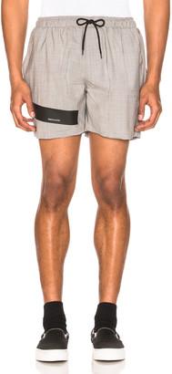 Raf Simons Taped Short Shorts in Fuchia   FWRD