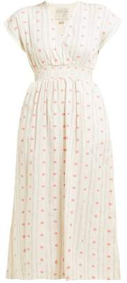 Ace&Jig Fay Tulip-jacquard Cotton Dress - Womens - Ivory