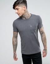Jack Wills Ayleford Logo T-Shirt Nep One Pocket