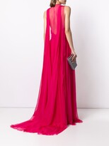 Thumbnail for your product : ZUHAIR MURAD Multiway-Cape Flyaway Cape Gown