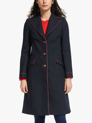 Boden Dove Coat, Navy