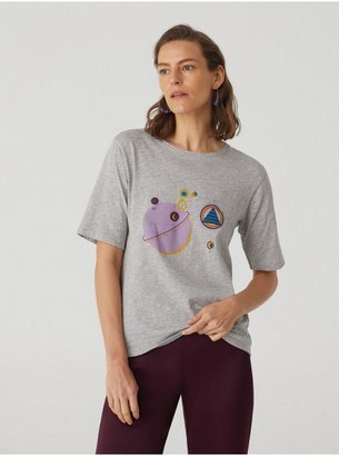 Nice Things Hilmas Planet T Shirt - Small