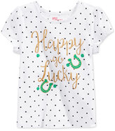 Epic Threads Mix and Match Happy Go Lucky Graphic-Print T-Shirt, Toddler & Little Girls (2T-6X), Only at Macy's