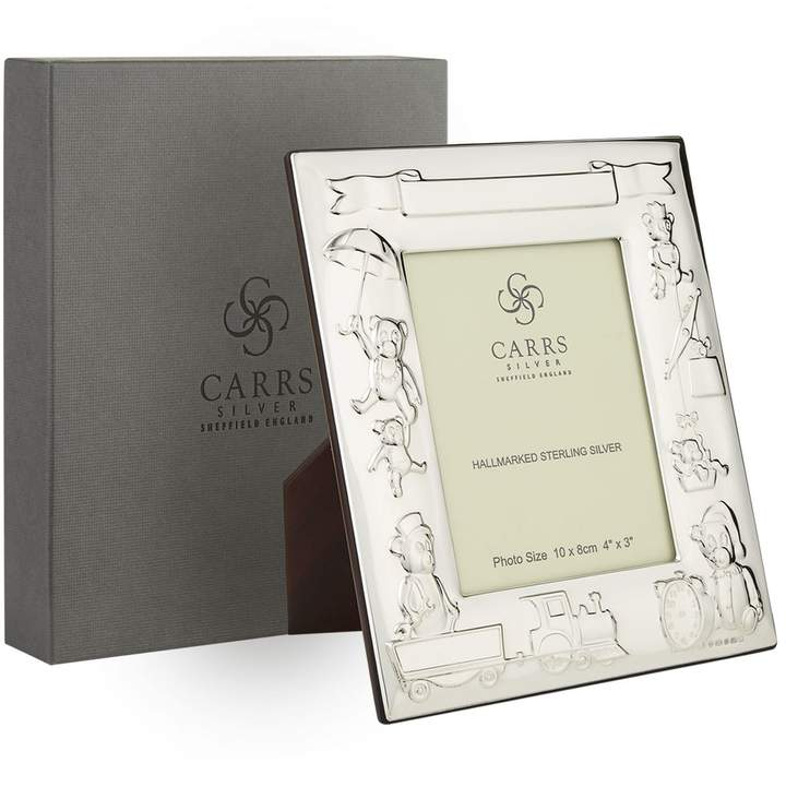 """Carrs of Sheffield Silver Sterling Silver Toy Frame (4"""" x 3"""")"""