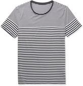 HUGO BOSS Striped Cotton-Jersey T-Shirt
