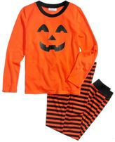 Family Pajamas Pumpkin Pajama Set, Little Boys or Girls (4-7) & Big Boys or Girls (8-16), Created for Macy's
