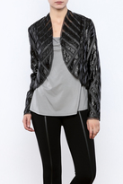 Ark & Co Metallic Bolero Jacket