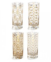 Lulu & Georgia Paloma Glass Highballs (SET OF 4)