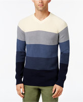 Tommy Hilfiger Men's Big & Tall Oakley Ombré Sweater