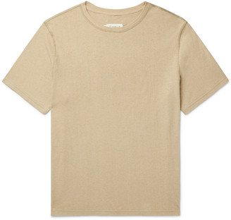 Satta Reishi Garment-Dyed Hemp And Organic Cotton-Blend T-Shirt