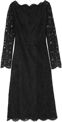 Valentino Cotton-blend Corded Lace Dress