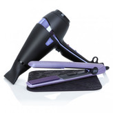 ghd Nocturne collection air professional hairdryer & V gold styler gift set
