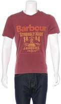 Barbour Print Crew Neck T-Shirt w/ Tags