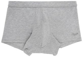 Ermenegildo Zegna Grey Cotton Boxers