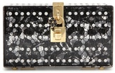Dolce & Gabbana Dolce Embellished Box Clutch