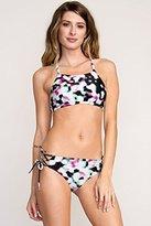 RVCA Women's Night Light Bralette Bikini Top