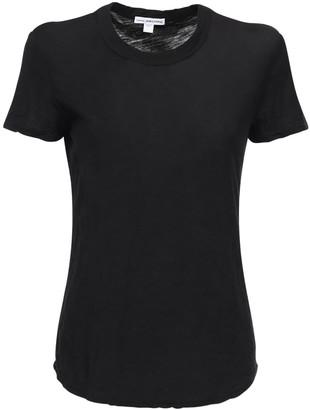 James Perse Sheer Cotton Jersey T-shirt