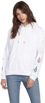 Volcom Junior's Deadly Stones Hooded Fleece Sweatshirt