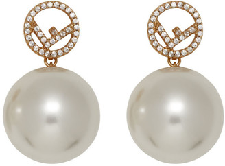 Fendi Gold F is Earrings