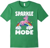 Women's Sparkle Mode Unicorns Magic Sparkle Rainbow Unicorn T-Shirt Medium