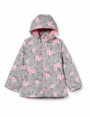 Name It Girls' NKFMAXI Jacket Fall Flower Warm