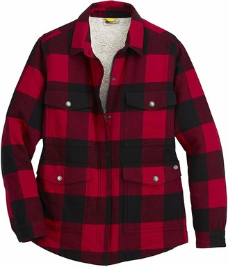 Dickies Women's Flannel Sherpa Lined Chore Coat