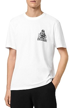 AllSaints Troglodyte Graphic Cotton Crewneck Tee