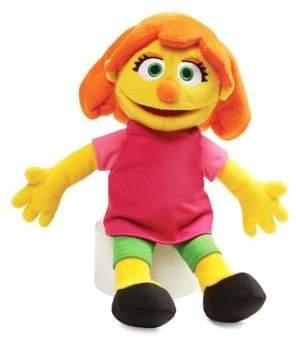 Gund Sesame Street Julia Plush Doll