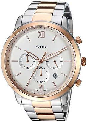Fossil Men's Neutra Chrono Quartz Stainless-Steel-Plated Strap