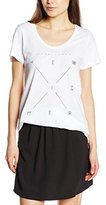 Herrlicher Women's Short Sleeve T-Shirt - White -