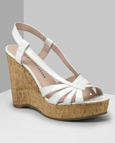 MARC BY MARC JACOBS Women's Patent Cork Wedge