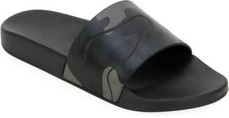 Valentino Garavani Men's Camo Slide Sandal