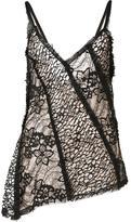 Jason Wu lace panelled camisole - women - Silk - 8
