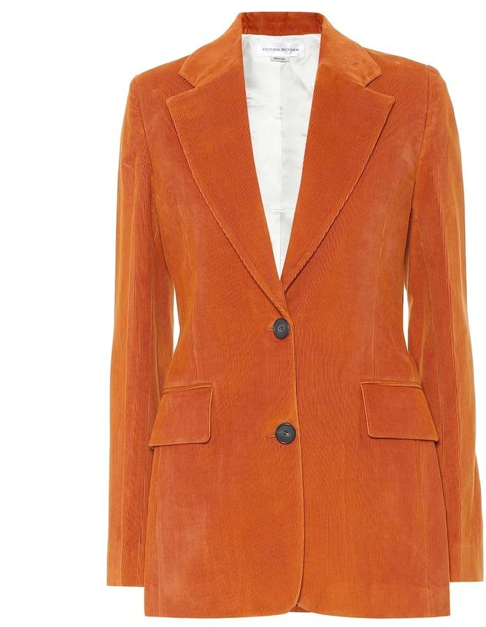 Victoria Beckham Cotton corduroy blazer
