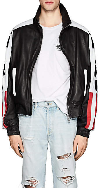 Amiri Men's American Flag Jacket - Black